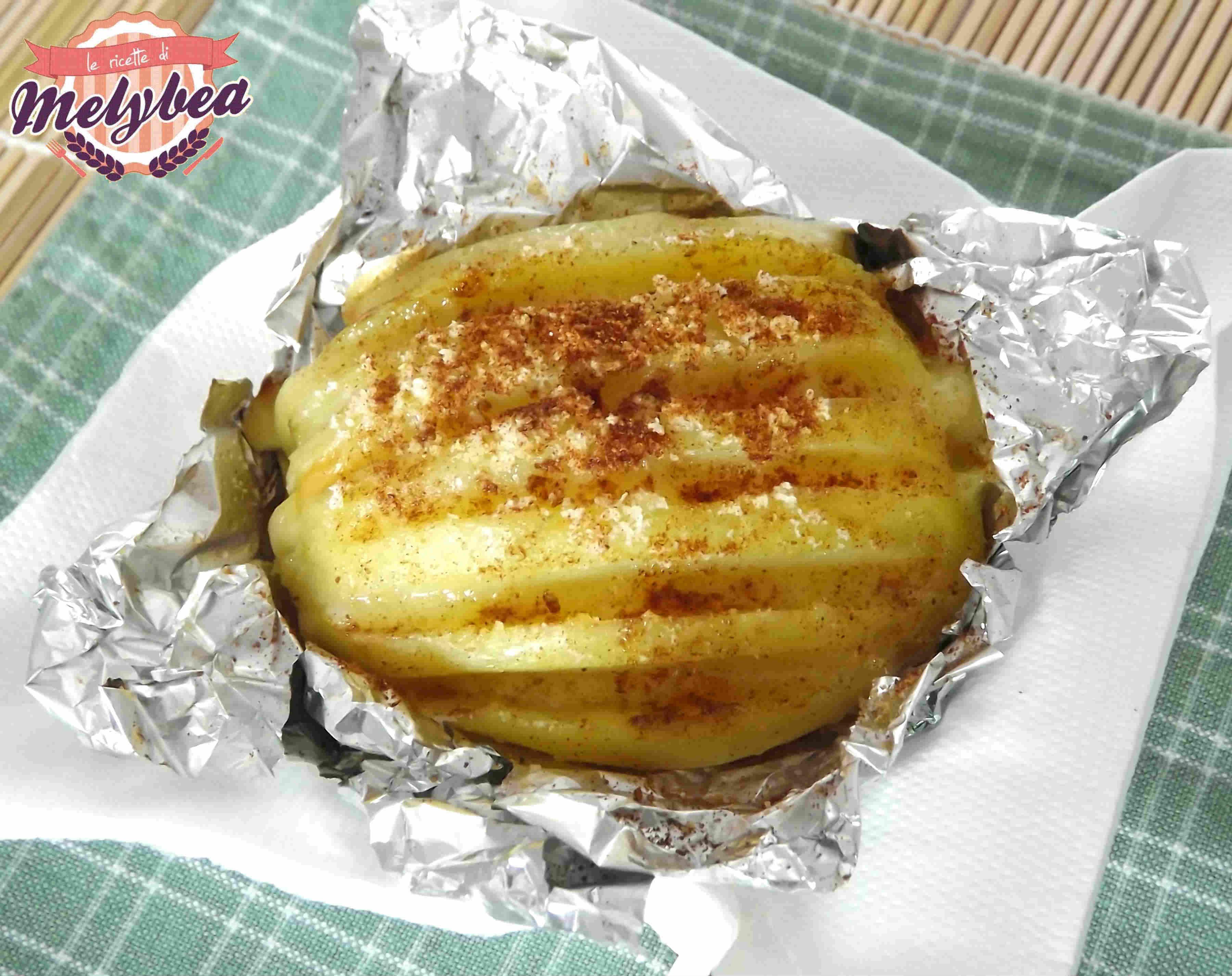 Patate farcite ricetta economica le ricette di melybea - Cucinare patate americane ...