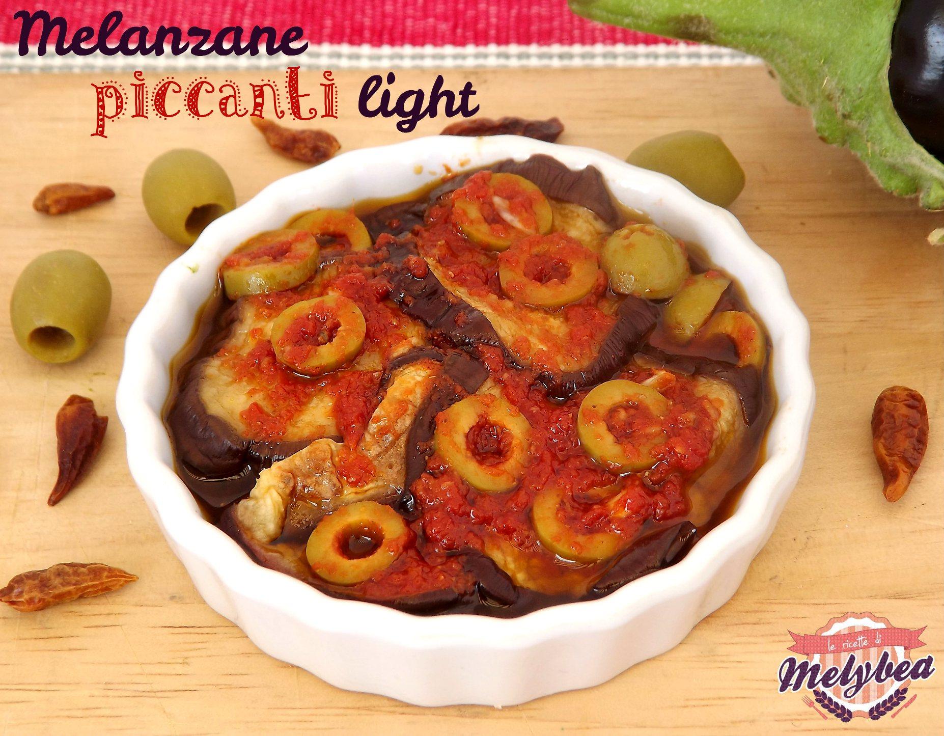 melanzane piccanti light