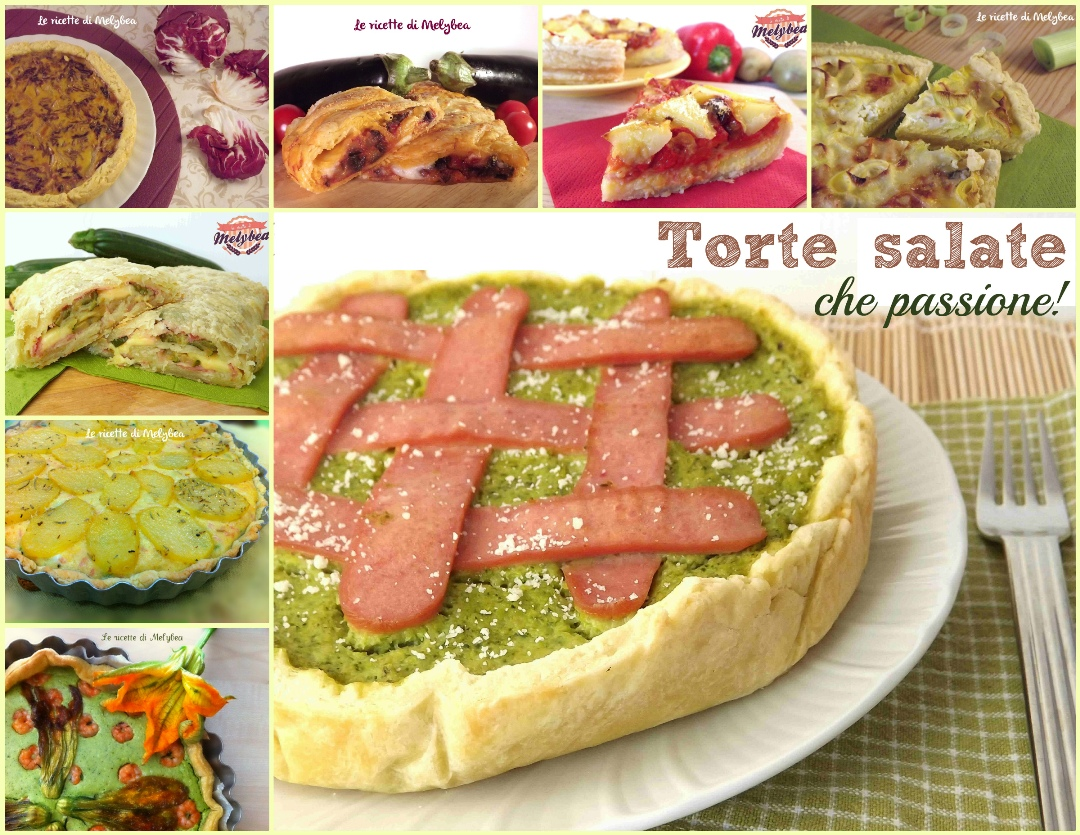 Torte salate archives le ricette di melybea for Torte salate ricette