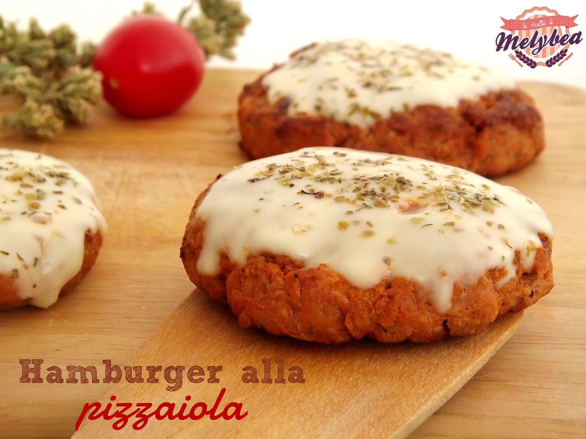 hamburger alla pizzaiola