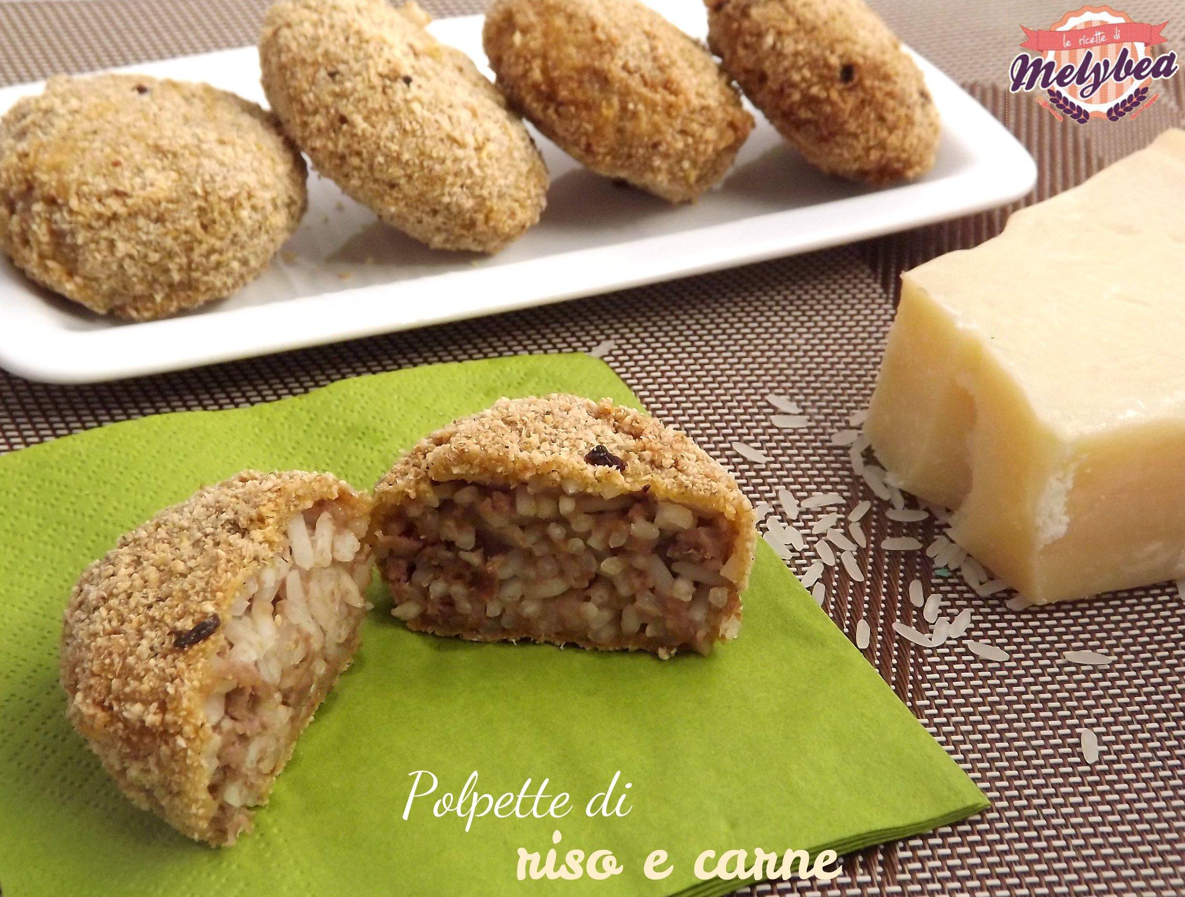 Polpette di riso e carne - Le ricette di Melybea