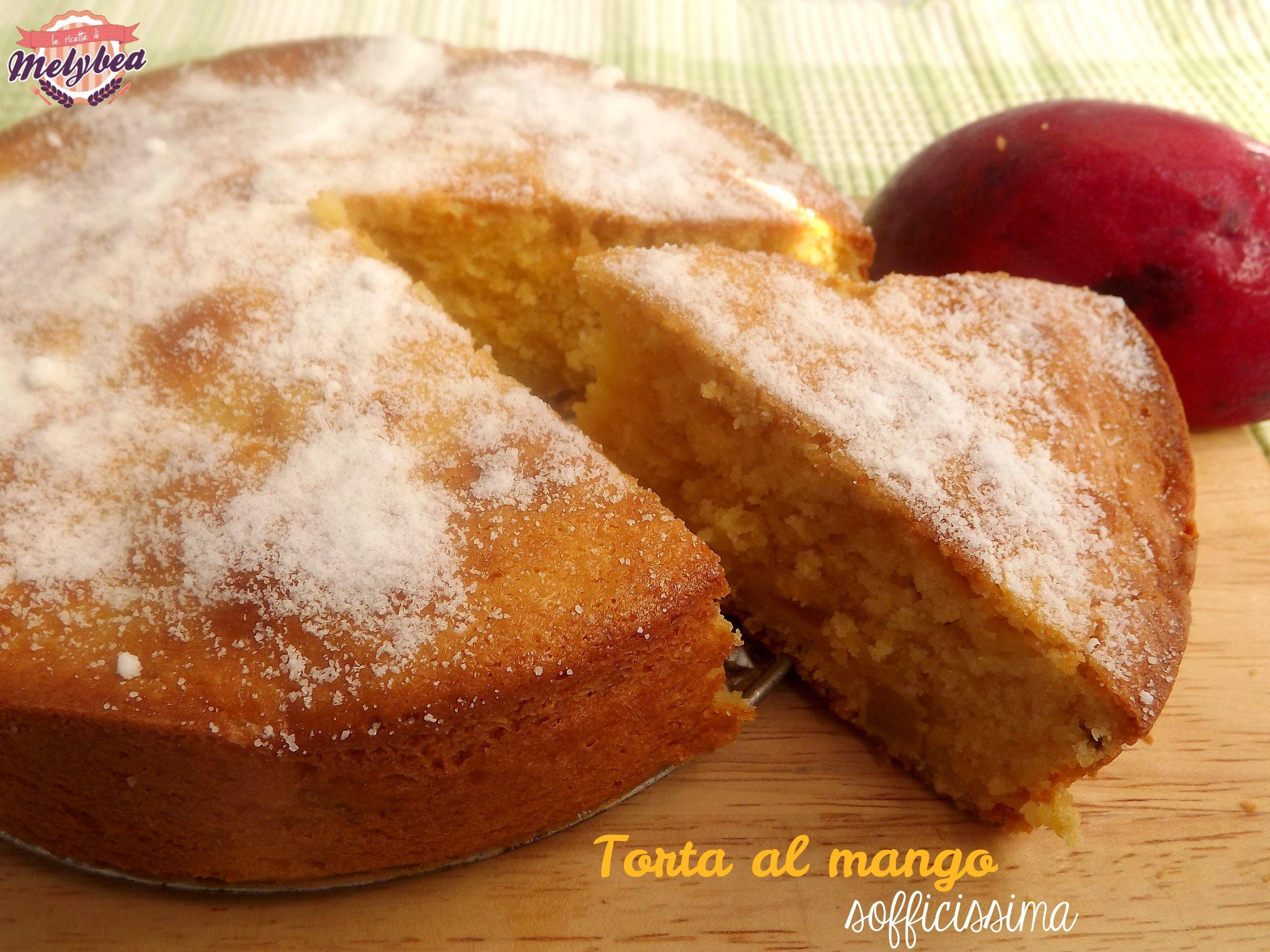 torta al mango sofficissima