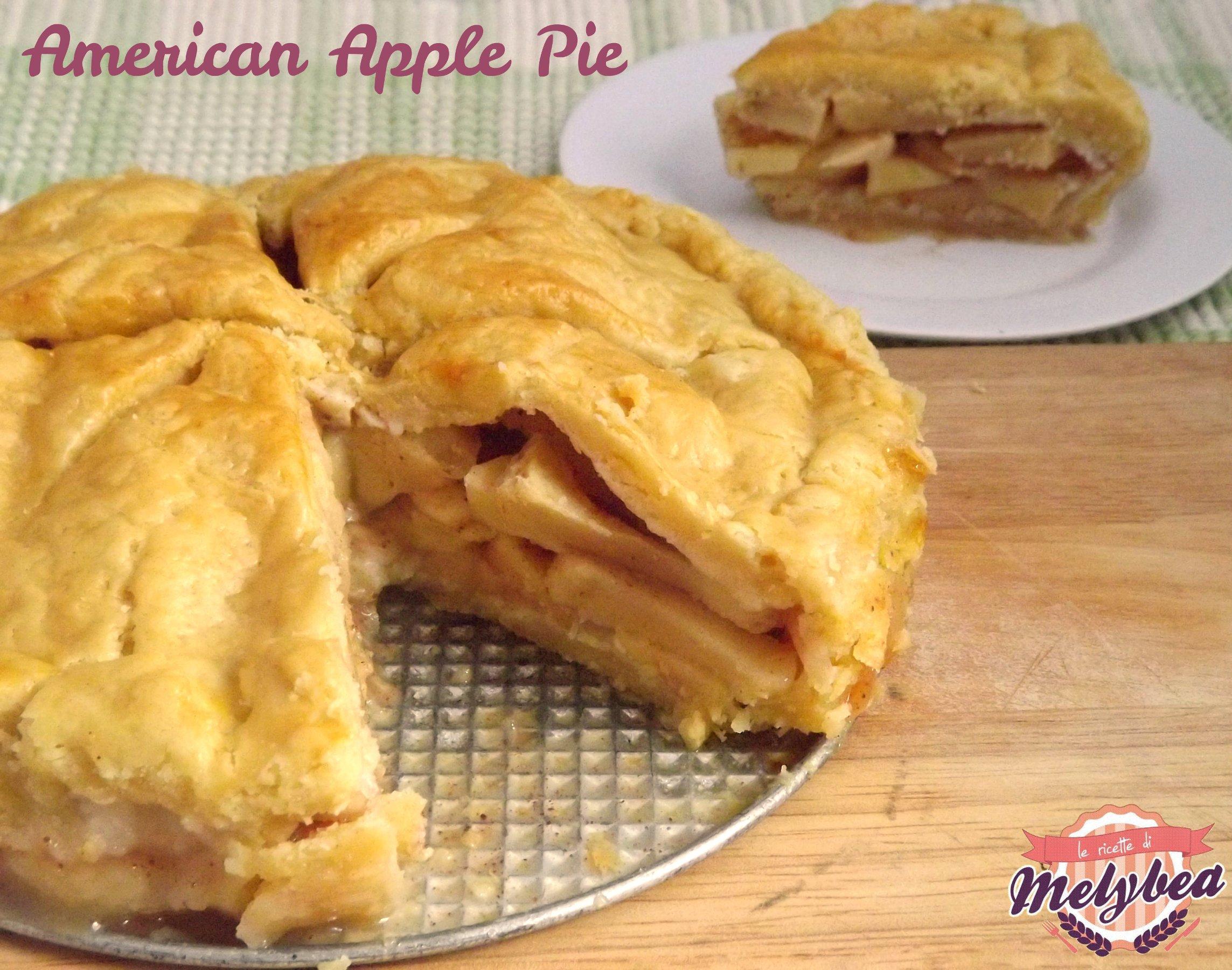 American Apple Pie – torta di mele Americana