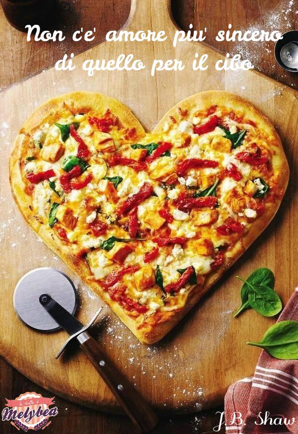 non c'è amore più sincero di quello per il cibo
