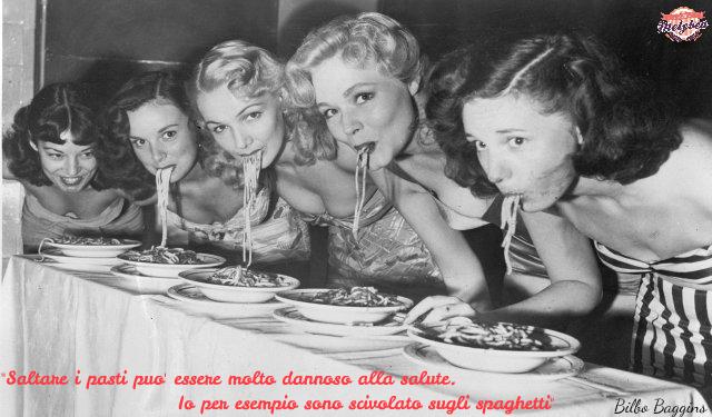 Saltare i pasti può essere molto dannoso alla salute. Io per esempio sono scivolato sugli spaghetti