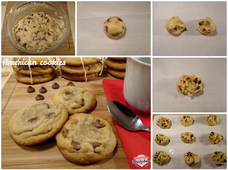 american cookies passo passo
