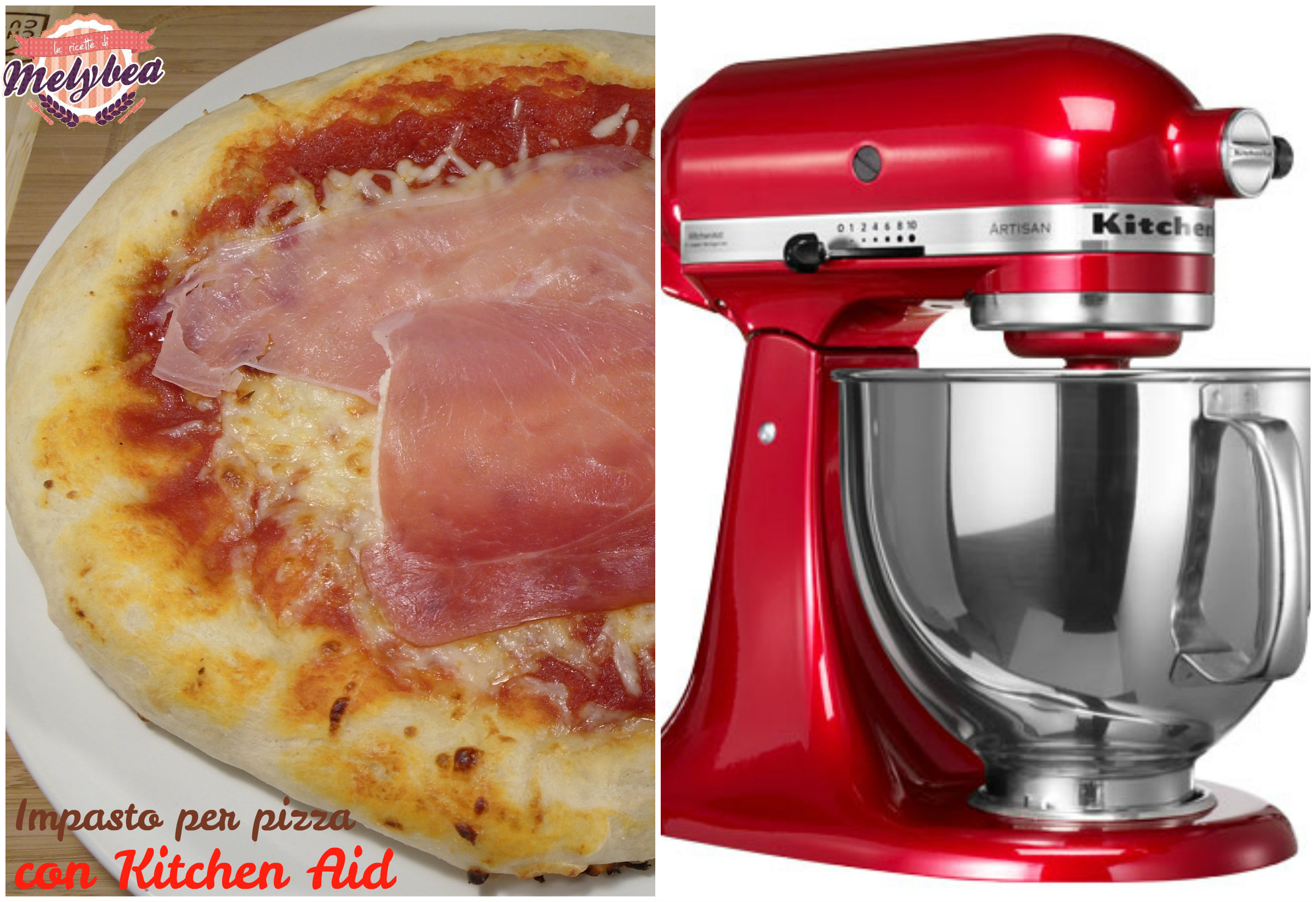 impasto per pizza con kitchen aid