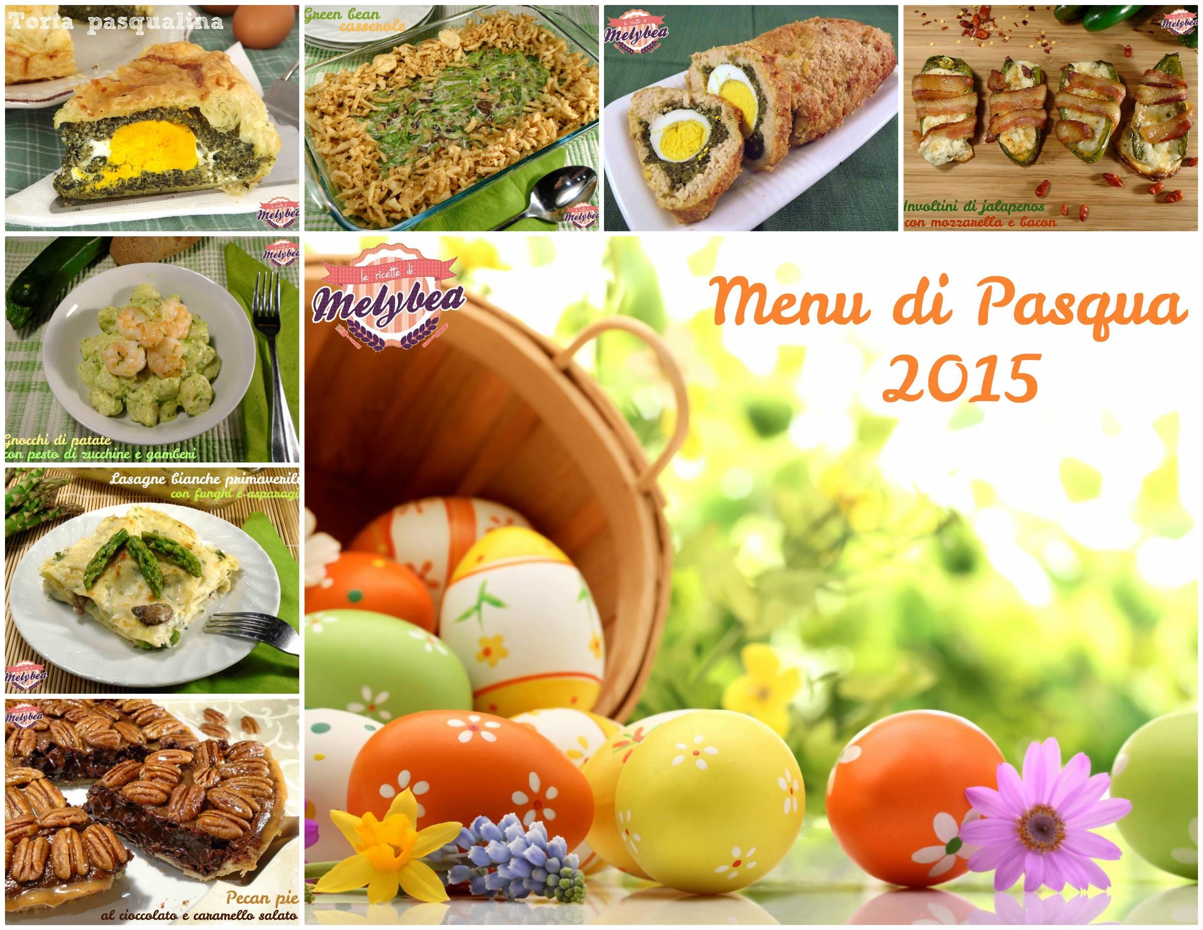 menu di pasqua 2015