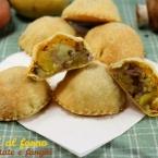 ravioli al forno con patate e funghi