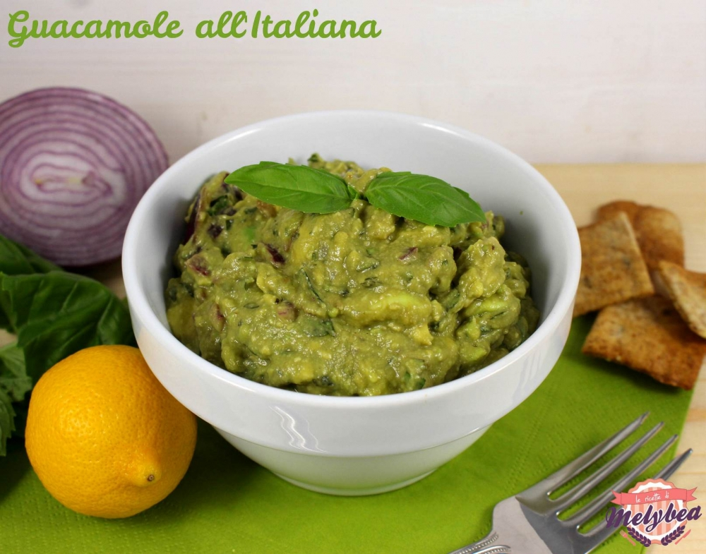 guacamole all'italiana