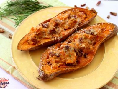 patate dolci ripiene
