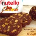 Salame di cioccolato alla Nutella