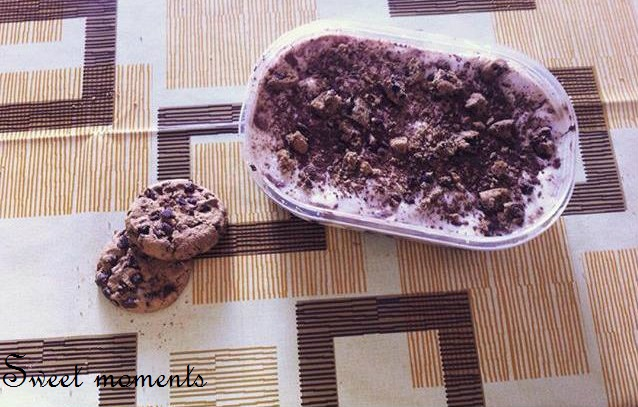 Gelato cookie