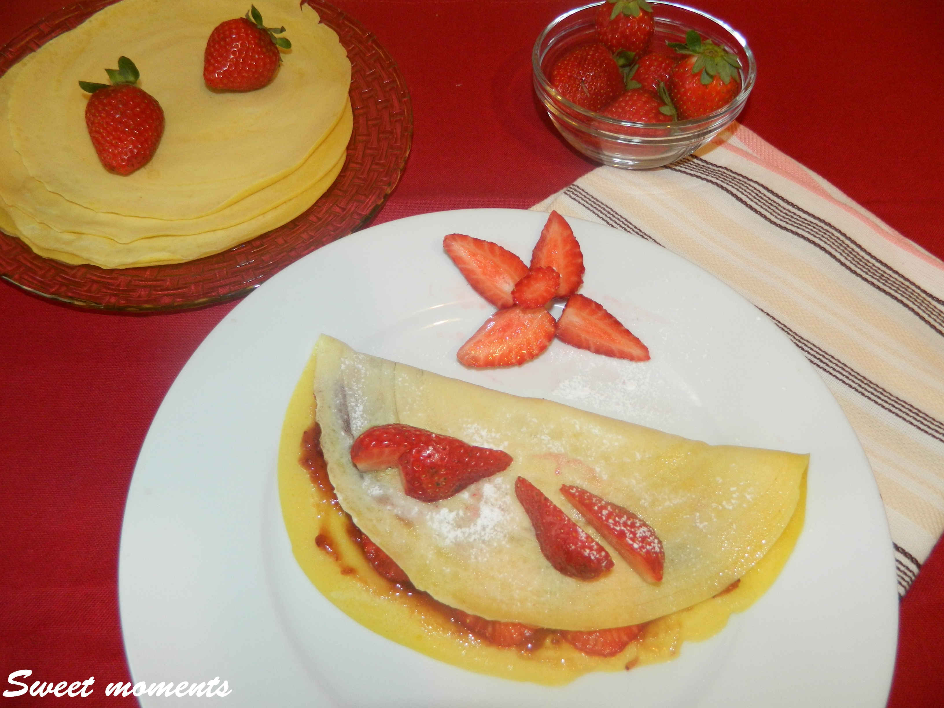 Crepes in collaborazione con Tec-al