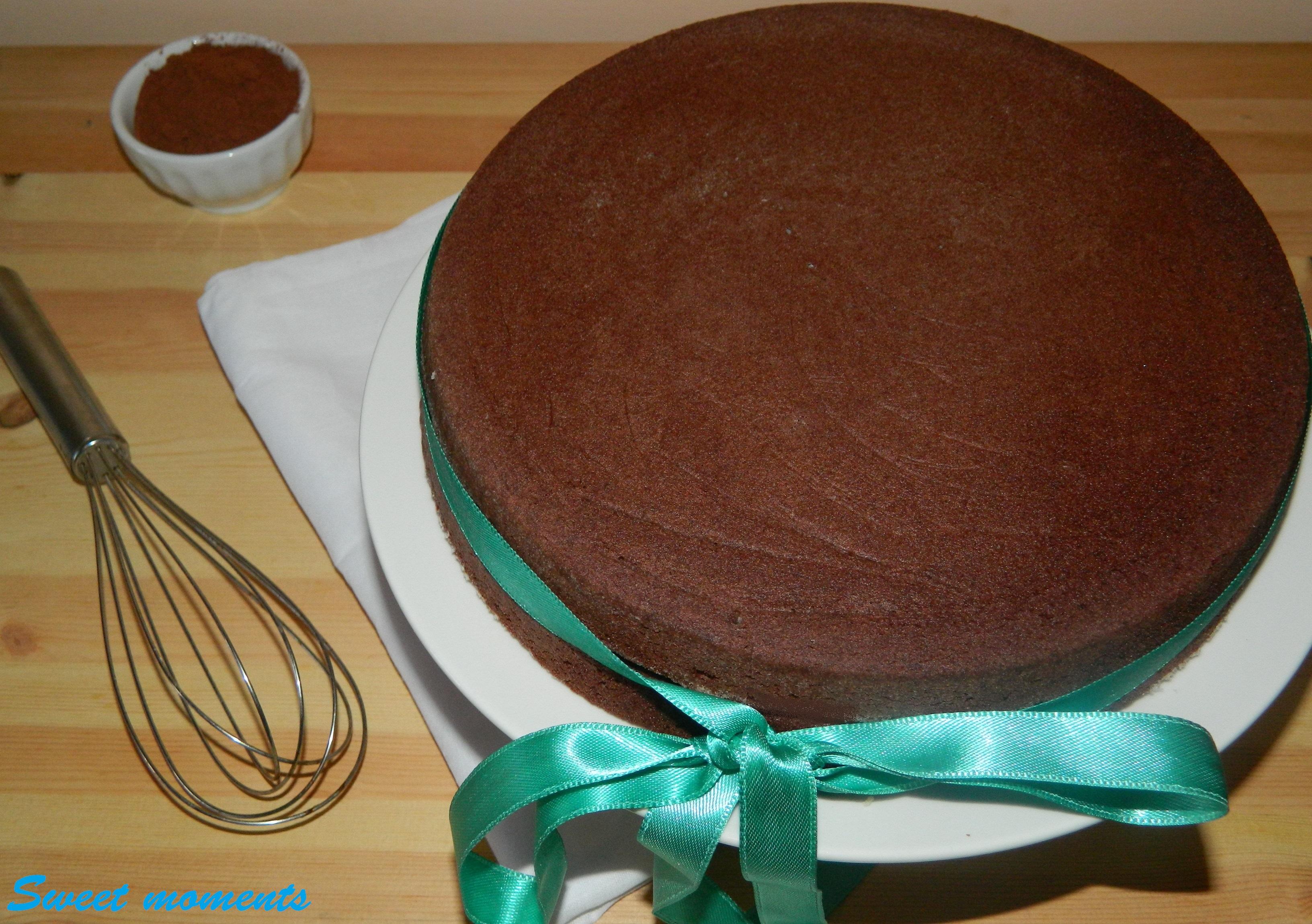 Pan di spagna al cacao | Ricetta base