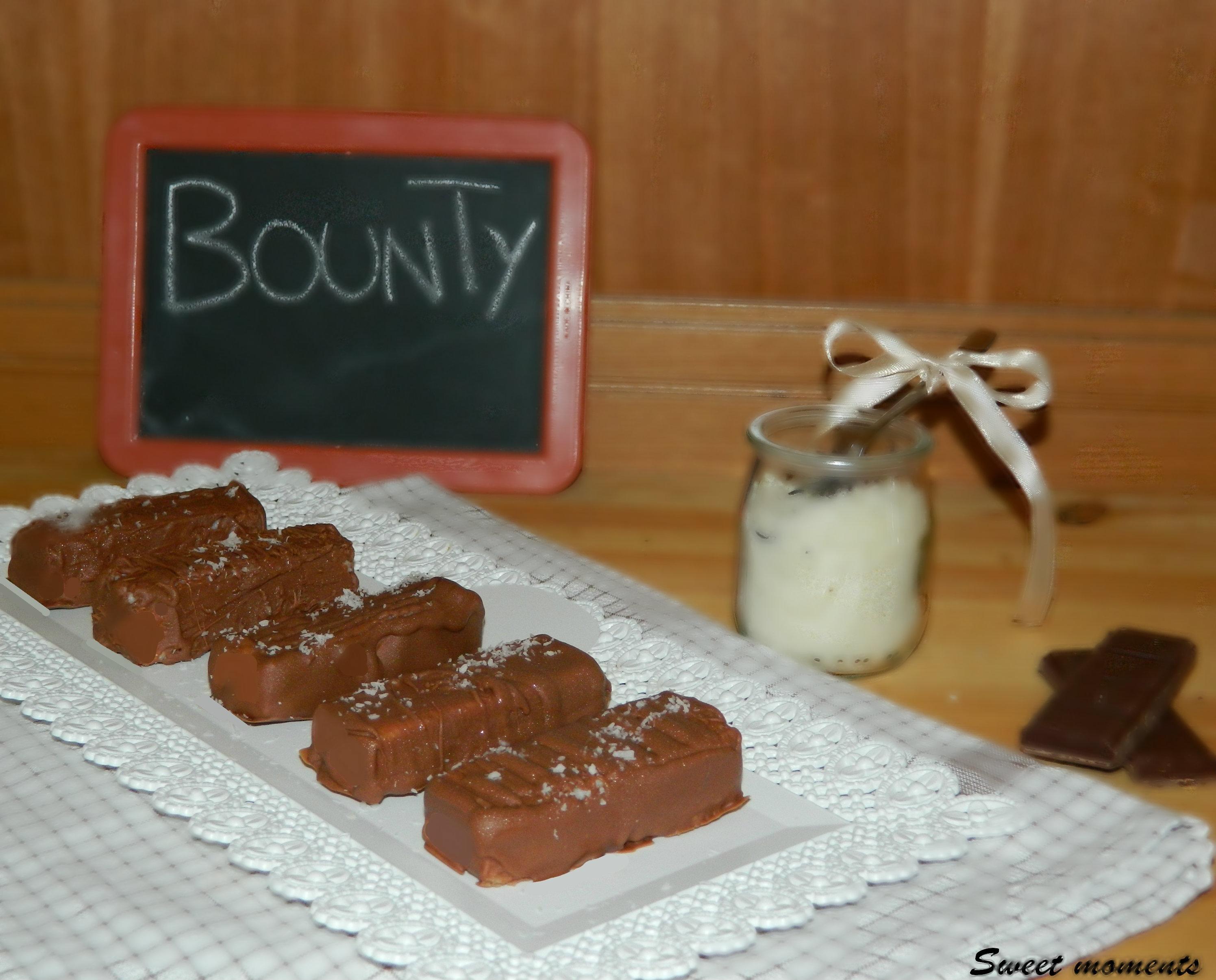 Cioccolatini Bounty fatti in casa