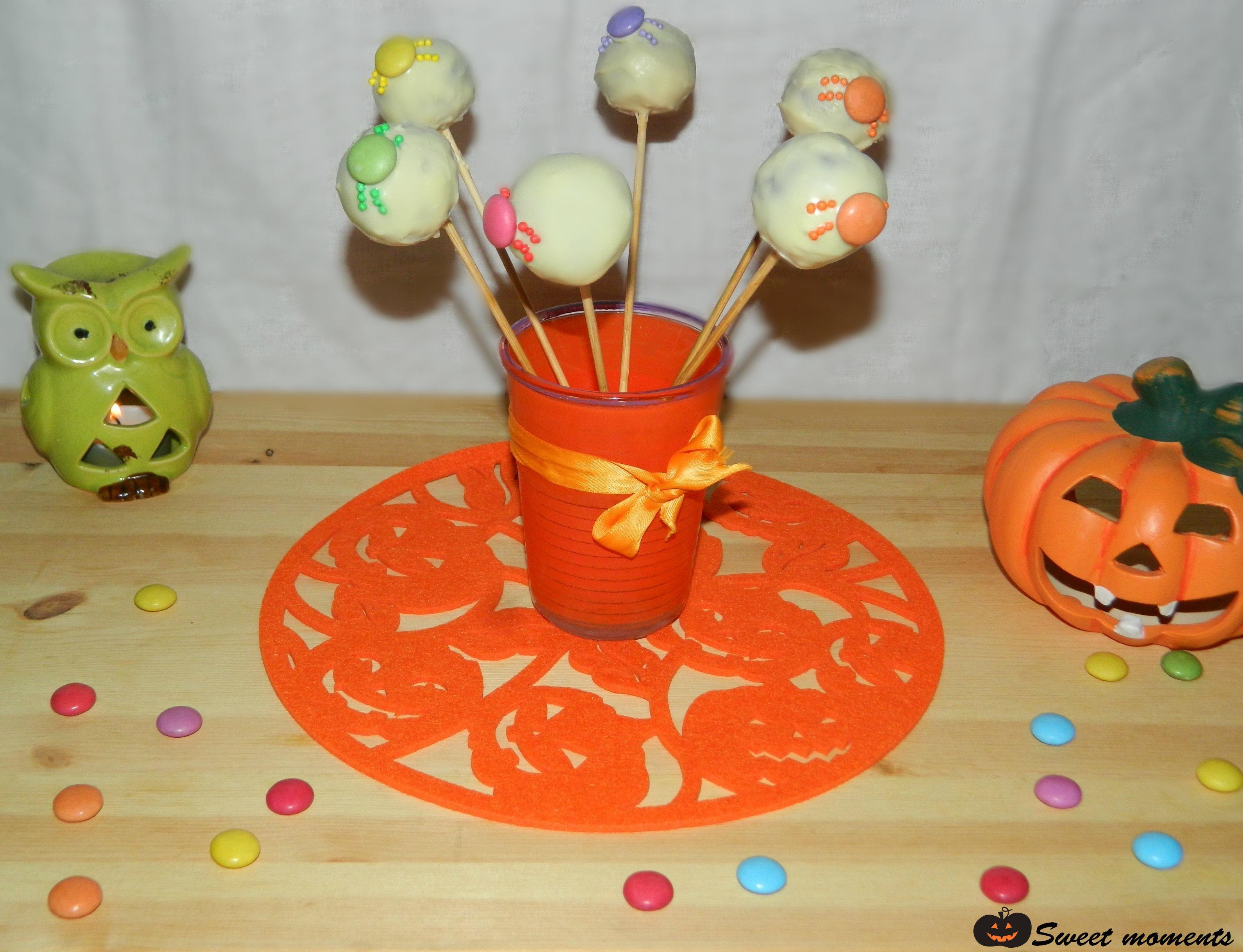 Halloween cake pops con Freddi Dolciaria