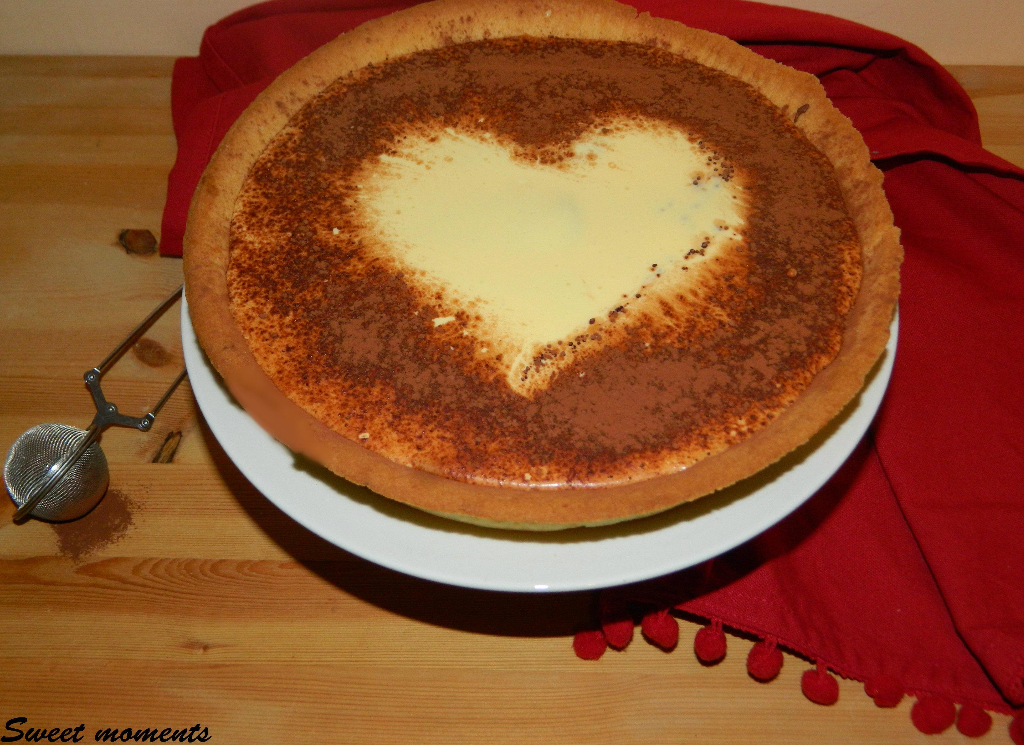 Crostata tiramis con haiti caff sweet moments ricette - Diversi tipi di caffe ...