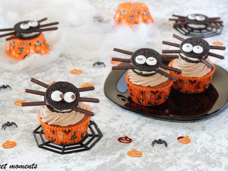 Ragnetto cupcake all'arancia e nutella