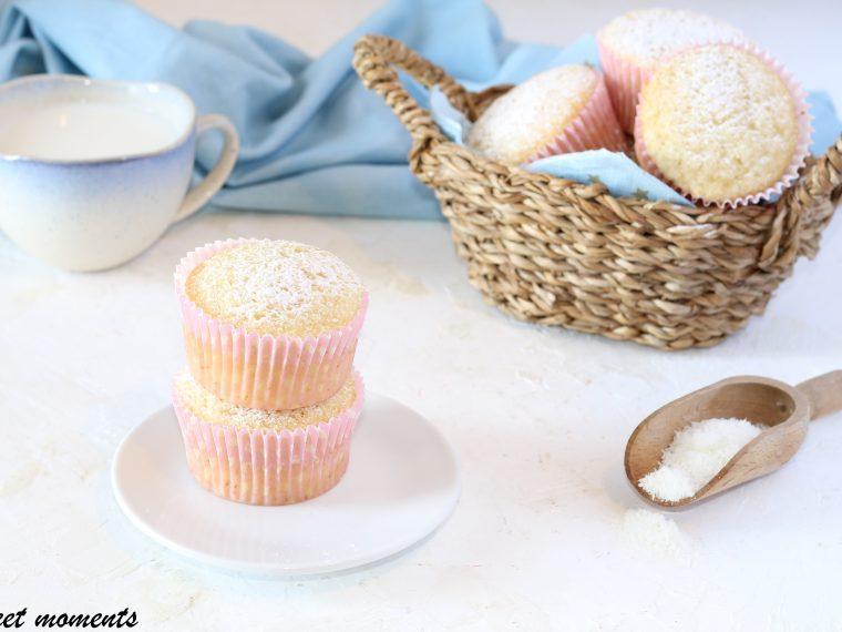 Muffin all'acqua di cocco