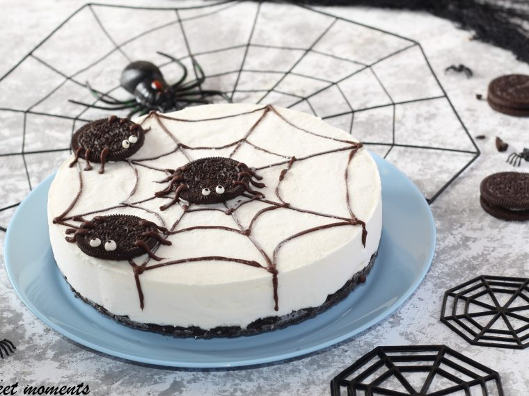 Spider cheesecake oreo