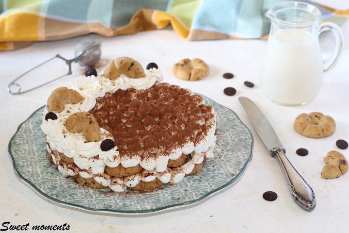 Torta Bucaneve con cuore di nutella