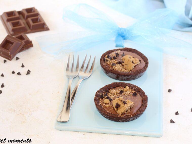 Crostatine cookies senza cottura