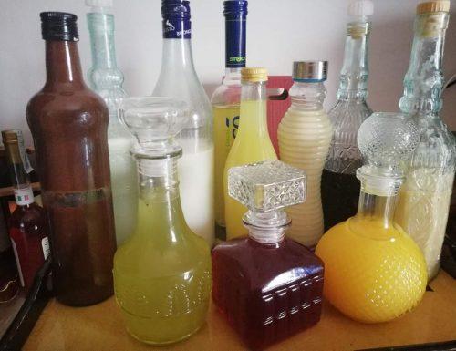 Raccolta ricette di liquori fatti in casa