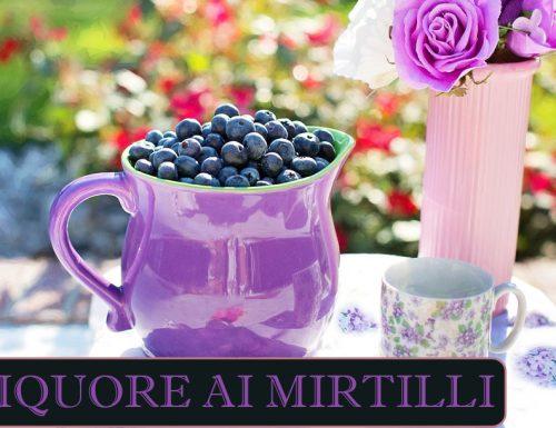 Liquore ai mirtilli – ricetta Mirtillino