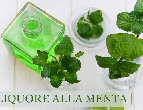 Liquore alla menta – ricetta Mentino