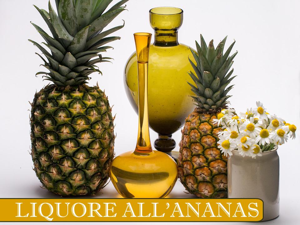 RICETTA liquore all'ananas