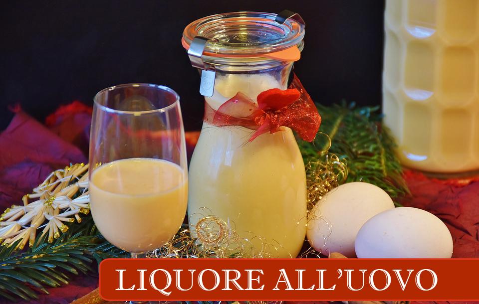 liquore all'uovo - ricetta vov