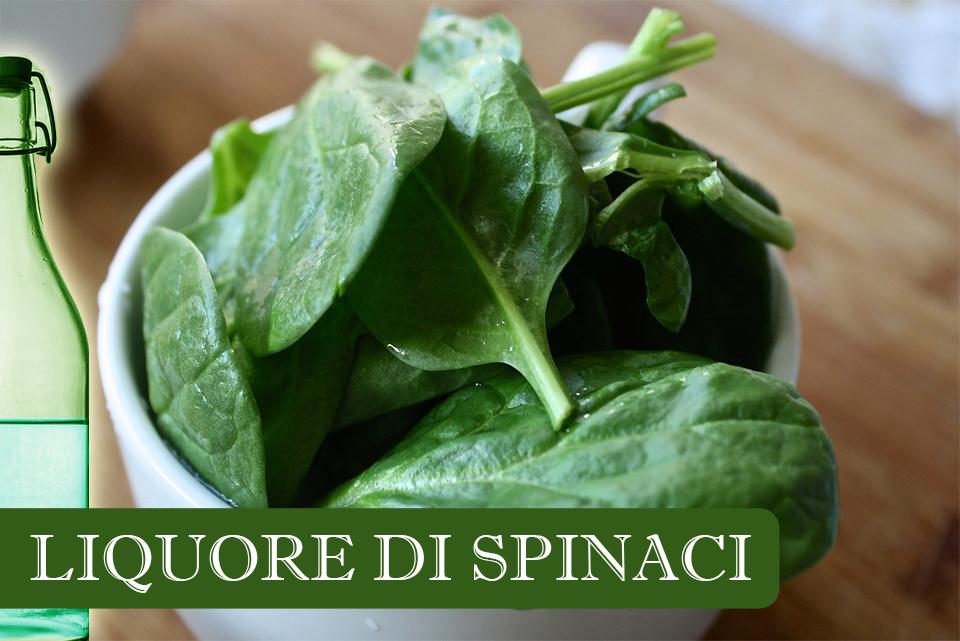 liquore di spinaci