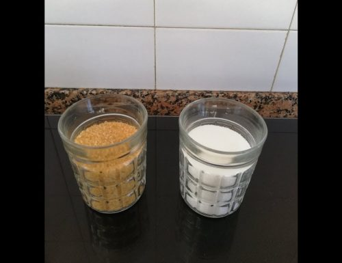 Differenza tra zucchero di canna e zucchero bianco?
