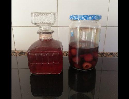 Liquore alle ciliegie – ricetta Cieloncello