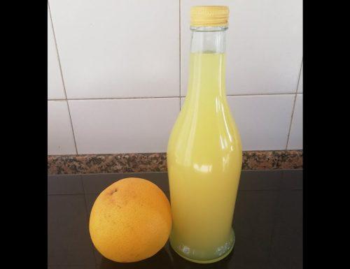 Liquore al pompelmo – ricetta Pomponcello