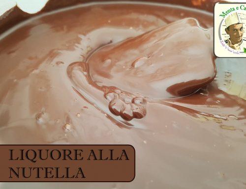 Liquore alla Nutella – ricetta Nutellino