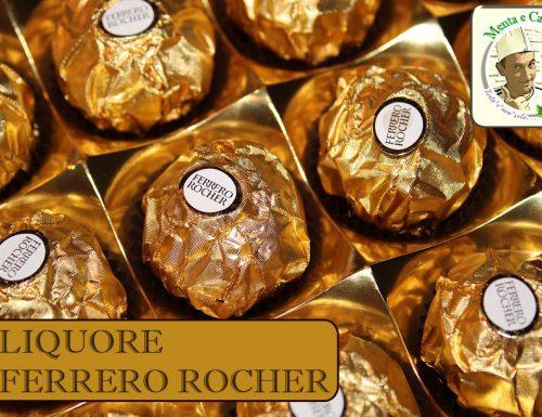 Liquore al Ferrero Rocher