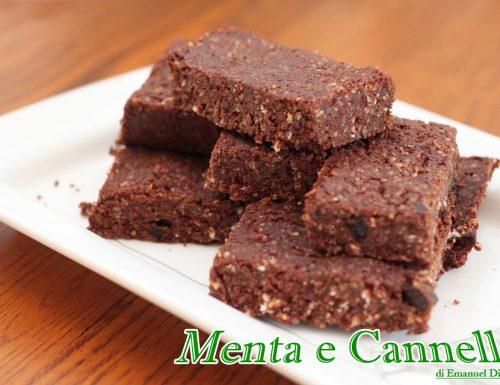 Ricetta Brownies vegani