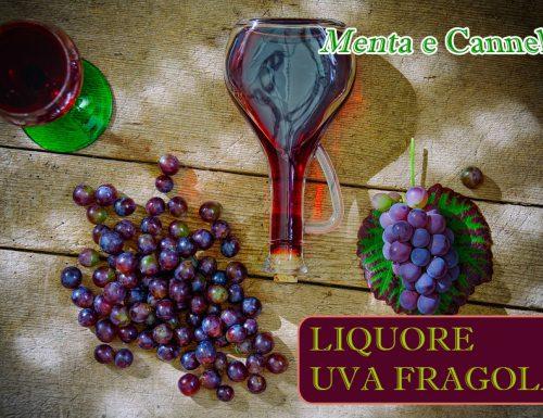 Liquore di uva fragola o Vitincello