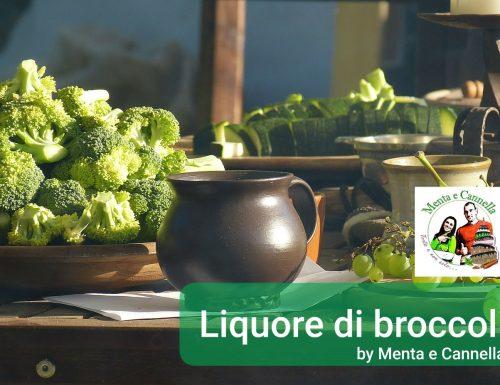 Liquore di broccoli – ricetta brocconcello