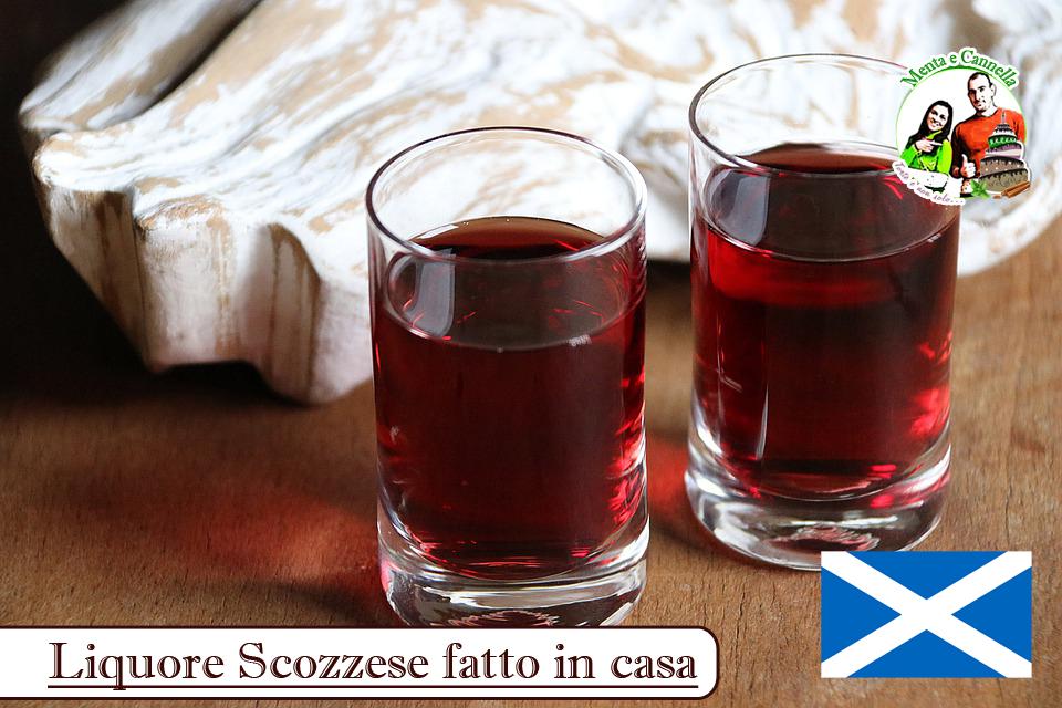 liquore scozzese fatto in casa