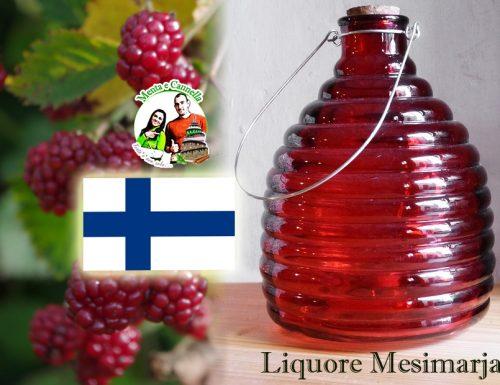 Liquore Mesimarja fatto in casa