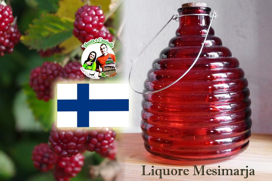 ricetta liquore Mesimarja
