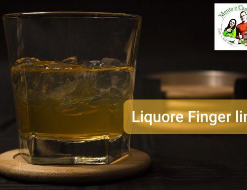 Liquore di Finger lime
