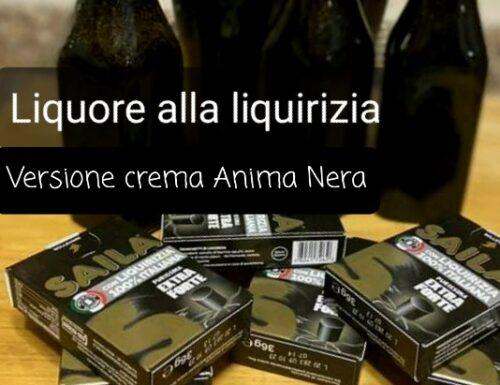 Liquore crema di liquirizia – Anima Nera