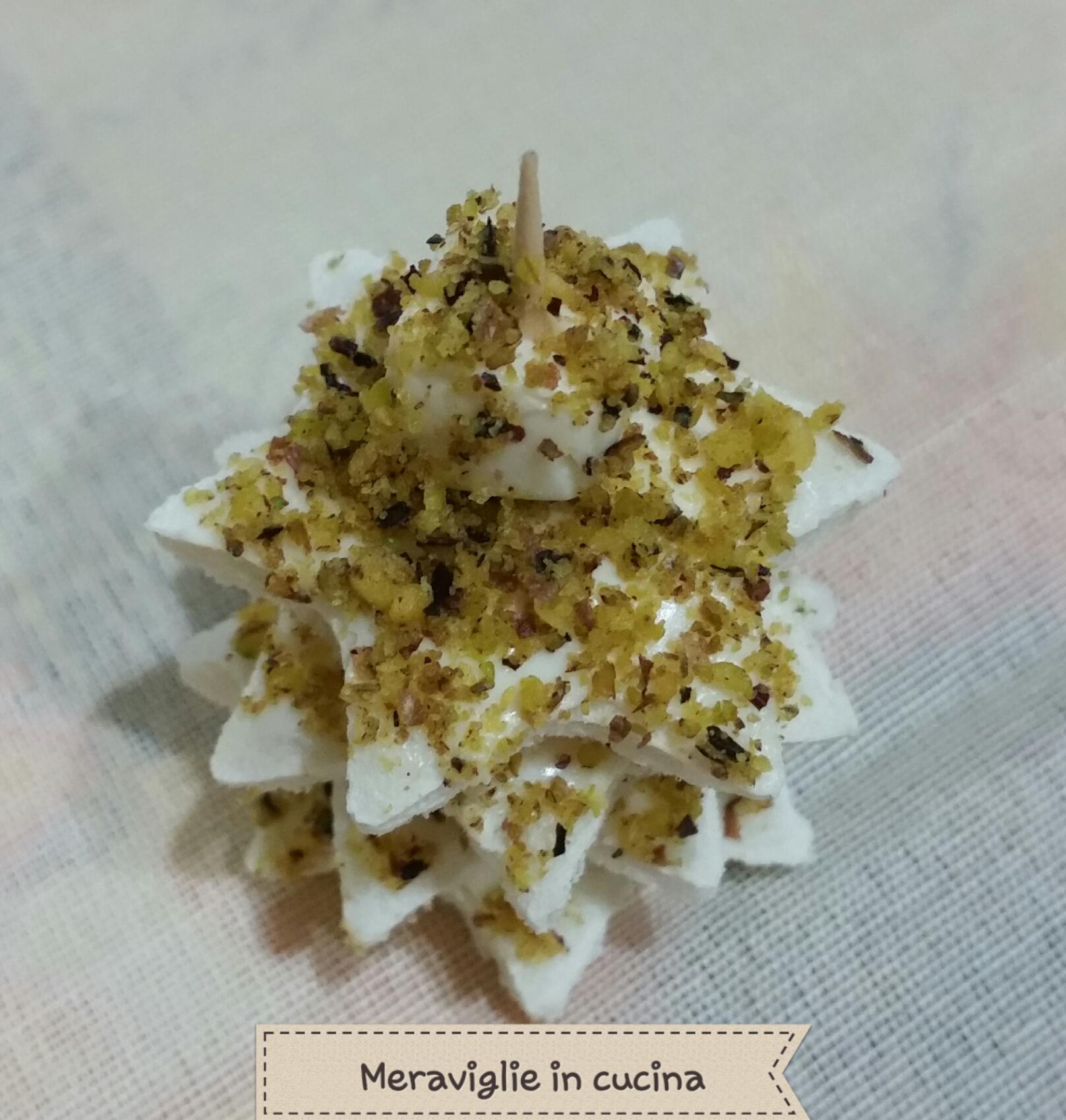 Alberelli di natale al pistacchio meraviglie in cucina for Alberelli di natale