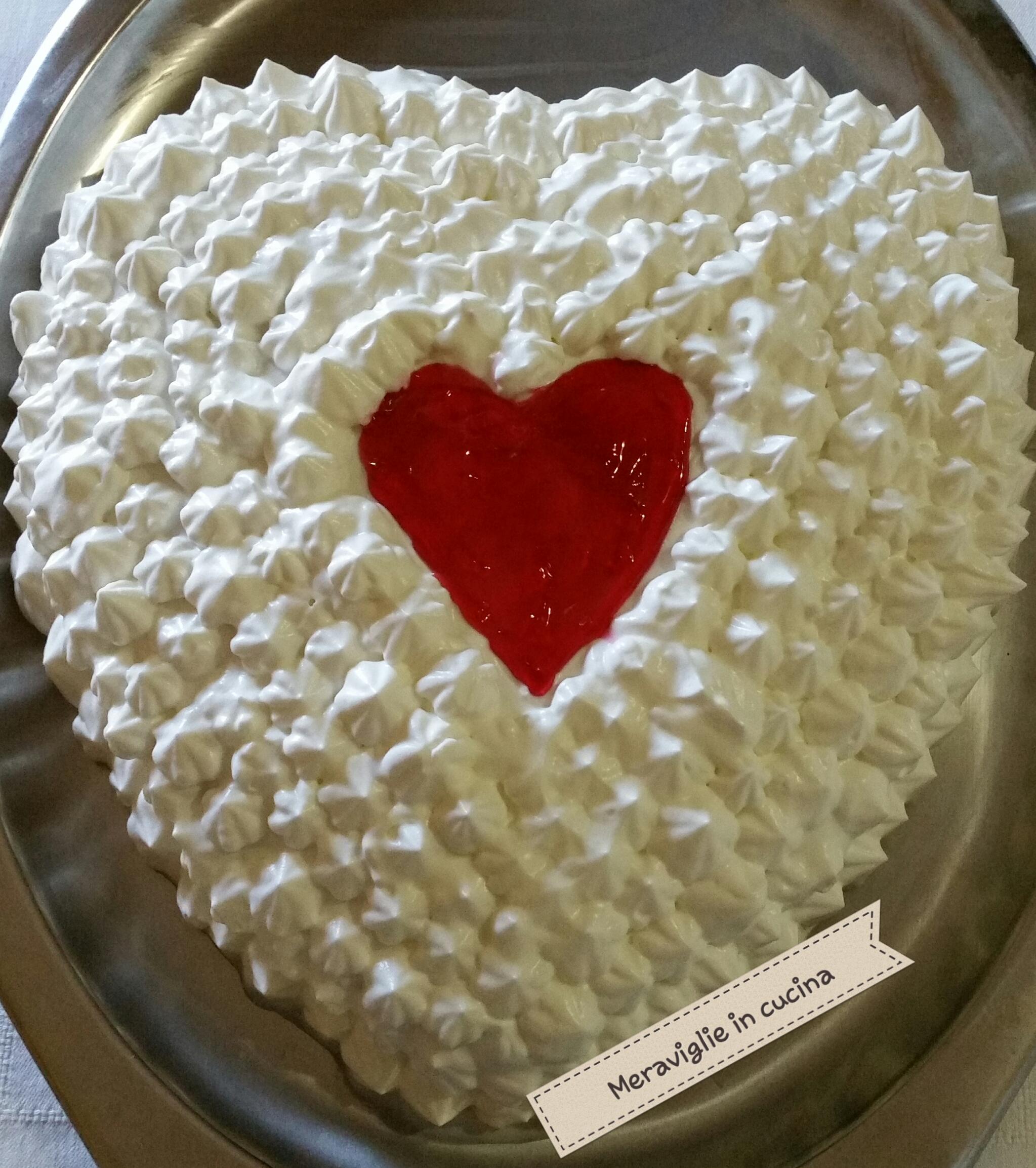 Torta S. Valentino alla marmellata