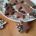 Biscotti natalizi con clementine cacao e zenzero