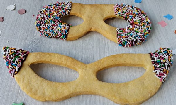 Biscotti maschere carnevale